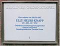 Gedenktafel Grillpazerstr 5 (Stegl) Elly Heus-Knapp.JPG