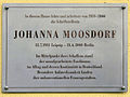 Gedenktafel Kastanienallee 27 Johanna Moosdorf.jpg