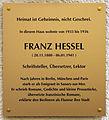 Gedenktafel Lindauer Str 8 (Schön) Franz Hessel.jpg