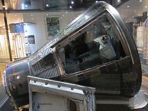 English: Gemini 3, Grissom Memorial, Spring Mi...