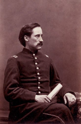 10th Maine Volunteer Infantry Regiment - Colonel George L. Beal of the 10th Maine Infantry