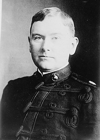 Assistant Commandant of the Marine Corps - Image: General C. G. Long in 1918