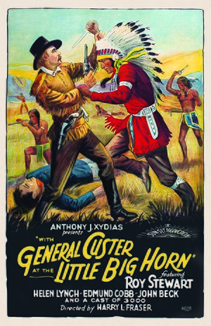 General Custer at the Little Big Horn - Film poster