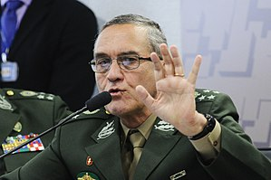 Brazilian Armed Forces - General Eduardo Villas Bôas current commander of the Brazilian Army.