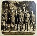 General Shea and Staff, surrender of Jerusalem to British, 1917 (29797421161).jpg