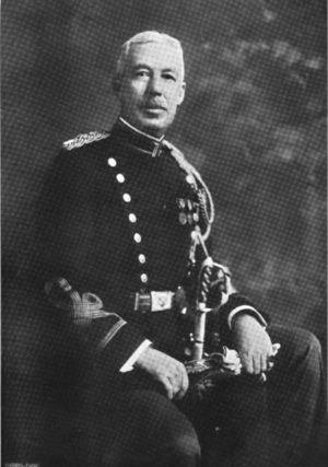 George H. Cameron - Cameron as Commandant of the Cavalry School.