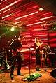 Georgian rock-band Vakis Parki performing at Hard Rock Cafe, Tbilisi. 27 October 2017 05.jpg