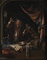 Gerard Dou - A Visit to the Doctor - KMSsp451 - Statens Museum for Kunst.jpg