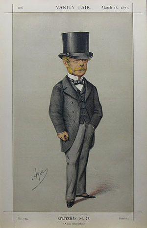 Gerard Noel (politician) - Image: Gerard Noel Vanity Fair 18 March 1871
