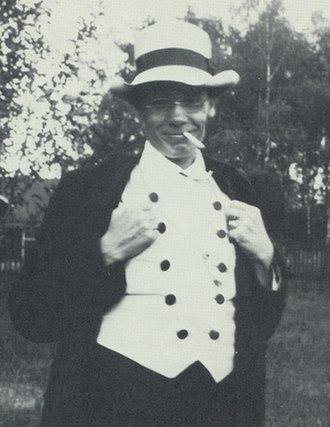Gerhard Henning - Gerhard Henning photographed on his honey moon in 1912