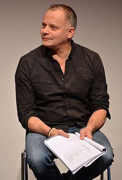 Gerhard Hoberstorfer i et optræden på Kulturhuset 2 februar 2013.