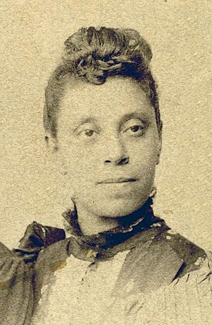 Gertrude Bustill Mossell - Image: Gertrude E.H. Bustill Mossell, c 1890 (cropped)