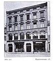 Geschäftsgebäude der Düsseldorfer Verlagsanstalt, Aktiengesellschaft, Kasernenstraße 18 in Düsseldorf, erbaut von Klein & Dörschel im Jahre 1898.jpg