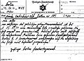 Gestapo radio-telegram for list of suspected homosexuals. Transcribed for chief of police in Dortmund.jpg