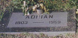 Hollywood Forever Cemetery - Headstone of costume designer Adrian