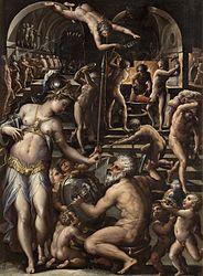 Giorgio Vasari: The Forge of Vulcan