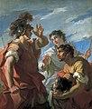 Giovanni Antonio Pellegrini - Caesar before Alexandria.jpg