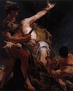 Giovanni Battista Tiepolo - The Martyrdom of St. Bartholomew - WGA22251.jpg