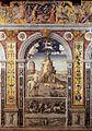 Giovanni Maria Falconetto, Mantua, Palazzo d'Arco, Sala dello Zodiaco, Sign of Sagittarius.jpg