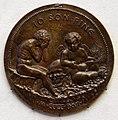 Giovanni boldù, medaglia con memento mori, 1466.jpg