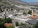Gjirokaster, view from street to castle 1.jpg