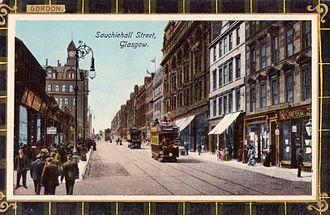 Sauchiehall Street - Sauchiehall Street, c. 1910