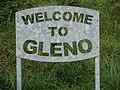 Gleno Sign - geograph.org.uk - 569050.jpg