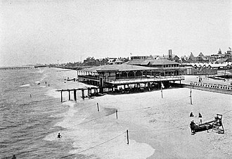 Ocean Grove, New Jersey - Ross' Pavilion in Ocean Grove, 1902