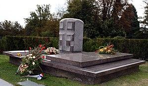 Gojko Šušak - The grave of Gojko Šušak in Zagreb