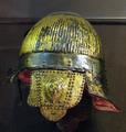 Golden helmet of Polish Hussar half of XVI century.png