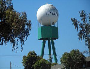 Gonzales, California - Gonzales water tower