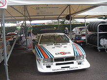 Photographie d'une Lancia Beta Montecarlo-Martini Groupe 5