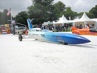 Blue Flame - Blue Flame at Bonneville