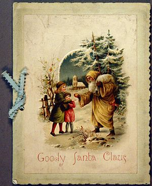 Katharine Lee Bates - Cover of an early edition of Goody Santa Claus