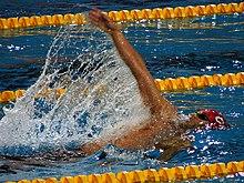 Плавание Википедия Кроль на спине