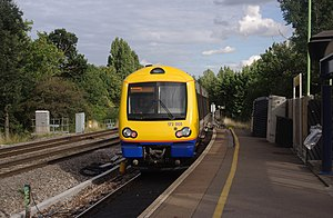 Gospel Oak railway station - Image: Gospel Oak railway station MMB 09 172005
