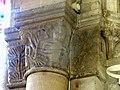 Gournay-en-Bray (76), collégiale St-Hildevert, bas-côté sud, chapiteau de l'arcade vers le transept, côté sud 3.jpg