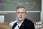 Governor of Florida Jeb Bush 1 at New Hampshire Education Summit The Seventy-Four August 19th, 2015 by Michael Vadon 08.jpg