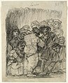 Goya - Locos (Lunatics), Sheet 35 from a Bordeaux Album (Journal-Album G), 55.662.jpg