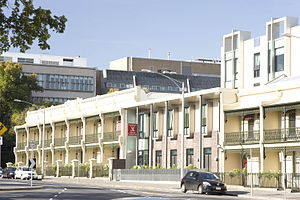 Graduate House (University of Melbourne) - The Graduate Union is a residential college