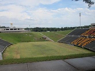 Grambling State Tigers - Eddie Robinson Stadium at Grambling State University in Grambling, Louisiana