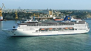 Costa neoRiviera - Costa neoRiviera as Grand Mistral In Malta, May 2006