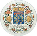 Grande prato de porcelana da China com as armas do distrito de Artois.jpg