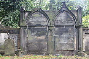 James Frederick Ferrier - Grave of James Frederick Ferrier, St Cuthbert's Church, Edinburgh.