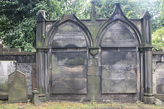 James Frederick Ferrier - Grave of James Frederick Ferrier, St Cuthbert's Church, Edinburgh.