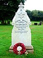 Grave of Private Robert Jones VC, hero of Rorke's Drift in the Zulu Wars, Peterchurch churchyard - geograph.org.uk - 947019.jpg