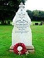 Grave of Private Robert Jones VC, hero of Rorke's Drift in the Zulu Wars, Peterchurch churchyard - geograph.org.uk - 947019.jpg