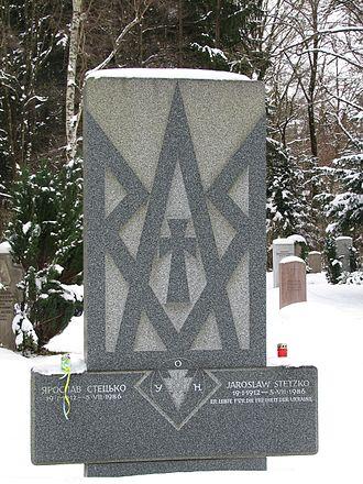 Yaroslav Stetsko - Grave of Yaroslav Stetsko