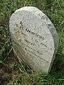 Gravestone, St Andrew's graveyard, Miningsby - geograph.org.uk - 555496.jpg