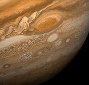 Great Red Spot From Voyager 1